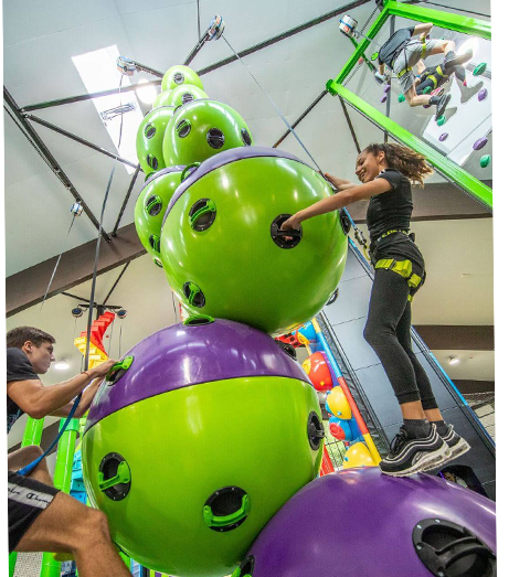 Clip and Climb Astroball