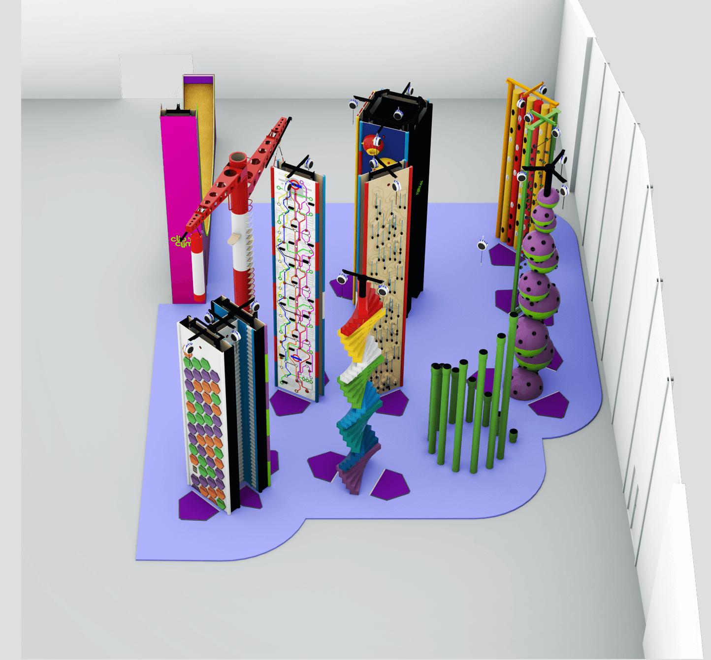 Clipandclimb 3D-Ansicht
